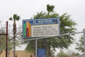 Salinas Elementary School Marquee
