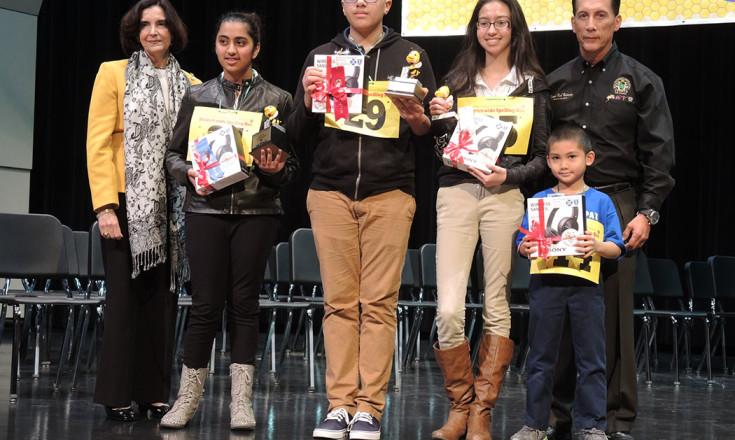 2016 UISD Spelling Bee Winners