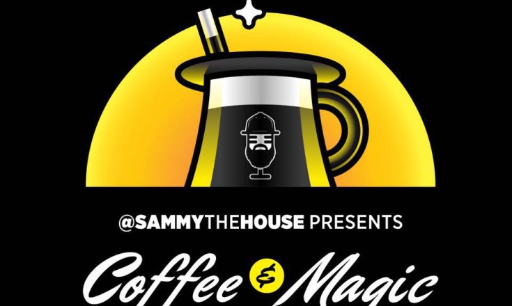 Coffee and magic logo