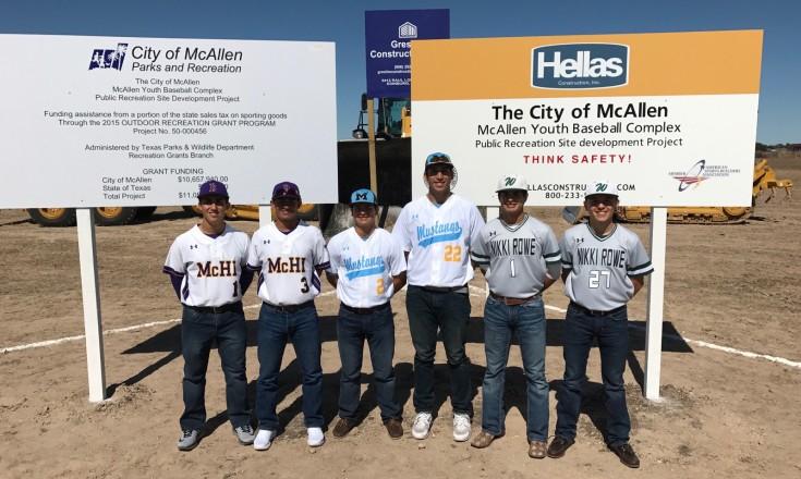 MISD Baseball Teams Baseball Complex Groundbreaking Ceremony_021517