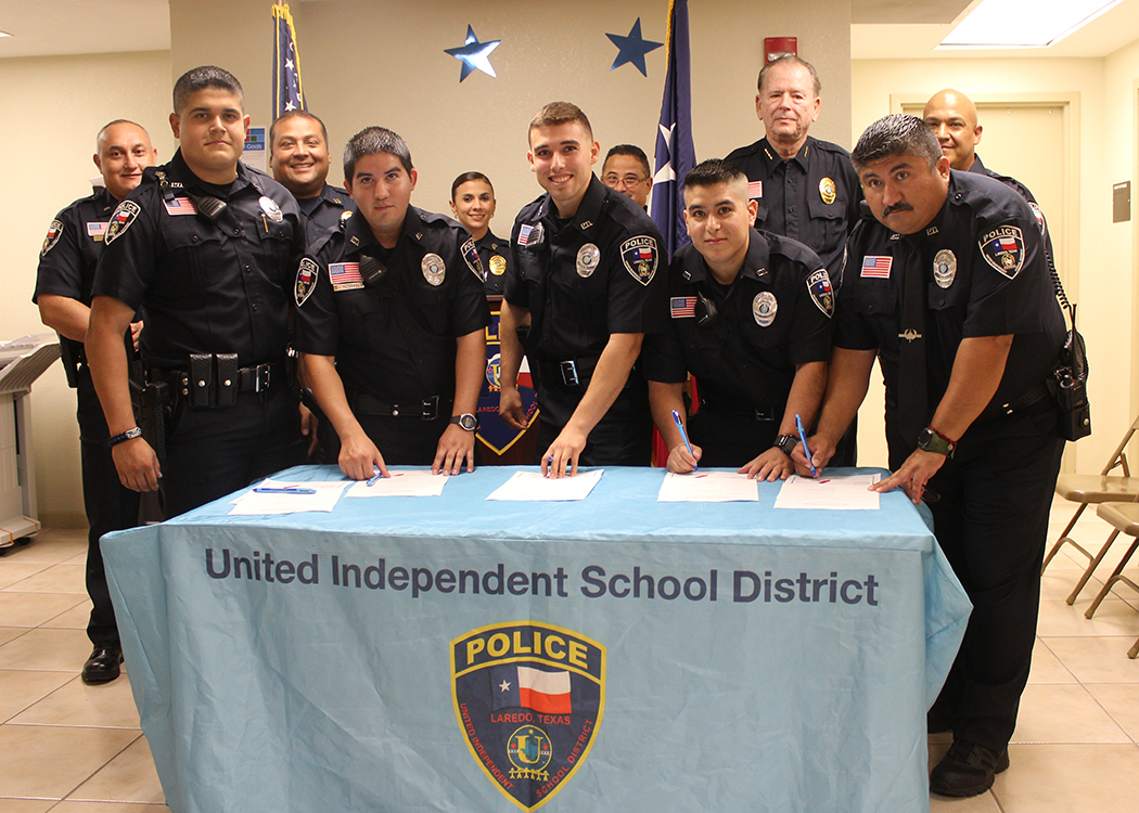 United ISD Police Department Welcomes Five New Officers ...