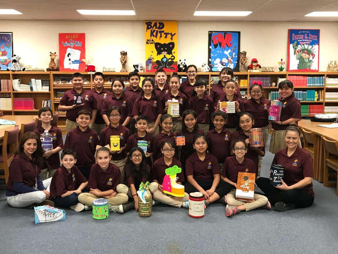 Ruiz Elementary Nehs Excels At Raising Pennies For Tennies